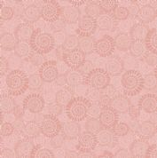 Lewis & Irene - Kimmeridge Bay - 6220 - Ammonites in Dusky Pink - A304.2 - Cotton Fabric